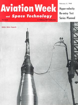 Cover for the February 5 1962 issue