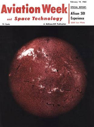 Cover for the February 19 1962 issue