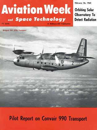 Cover for the February 26 1962 issue