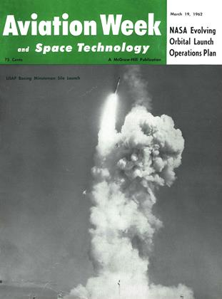 Cover for the March 19 1962 issue