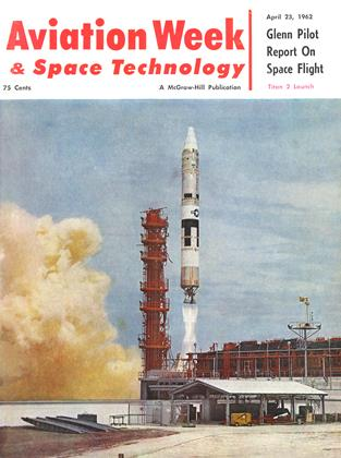 Cover for the April 23 1962 issue