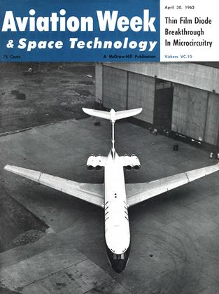 Cover for the April 30 1962 issue