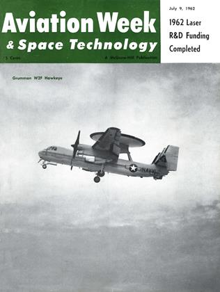 Cover for the July 9 1962 issue