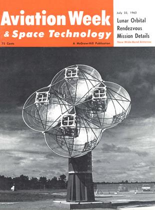 Cover for the July 23 1962 issue