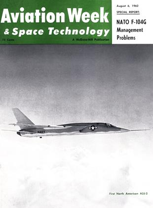 Cover for the August 6 1962 issue