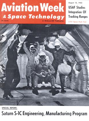 Cover for the August 13 1962 issue