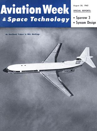 Cover for the August 20 1962 issue