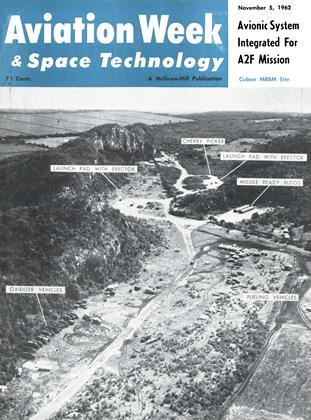 Cover for the November 5 1962 issue