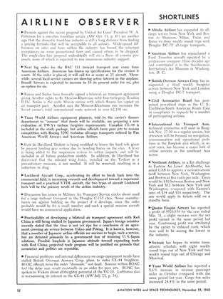 Airline Observer, Page: 52 - November 19, 1962 | Aviation Week