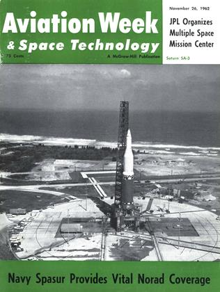 Cover for the November 26 1962 issue