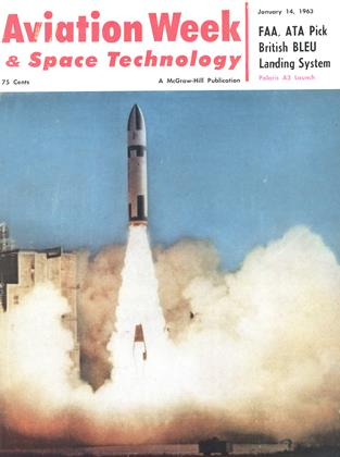 Cover for the January 14 1963 issue