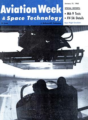 Cover for the January 21 1963 issue