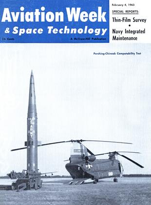 Cover for the February 4 1963 issue