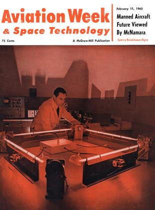 Cover for the February 11 1963 issue