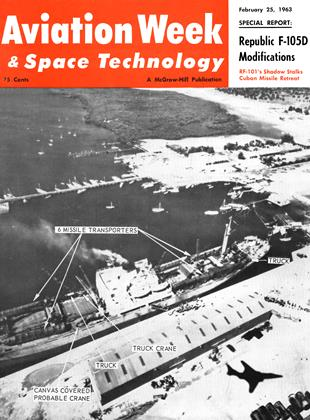 Cover for the February 25 1963 issue