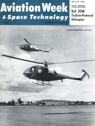 Cover for the April 29 1963 issue