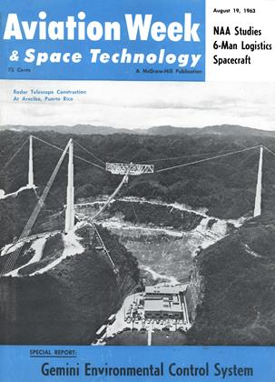 Cover for the August 19 1963 issue