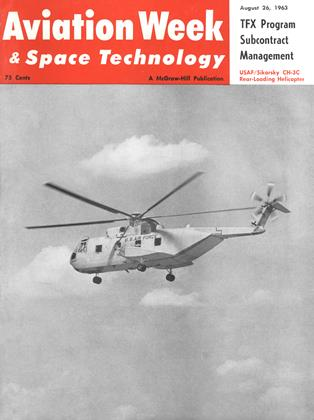 Cover for the August 26 1963 issue