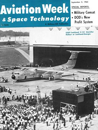 Cover for the September 2 1963 issue