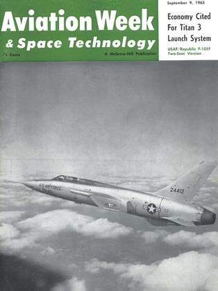 Cover for the September 9 1963 issue