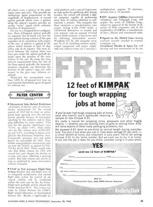 Filter Center T, Page: 89 - September 30, 1963   Aviation Week