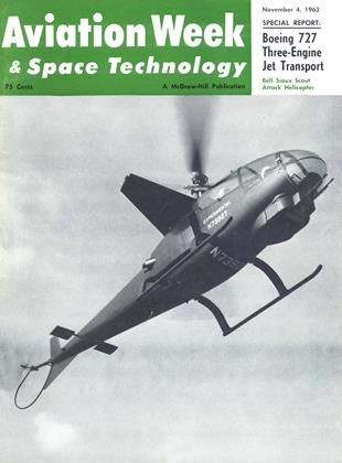 Cover for the November 4 1963 issue