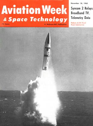 Cover for the November 18 1963 issue