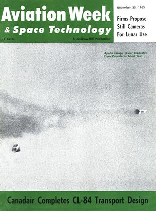 Cover for the November 25 1963 issue