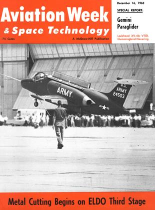 Cover for the December 16 1963 issue