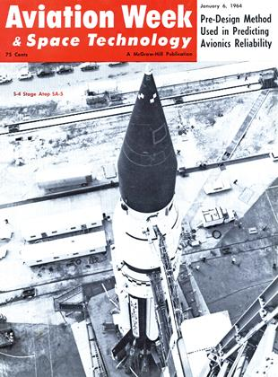 Cover for the January 6 1964 issue