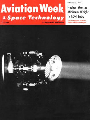 Cover for the February 3 1964 issue