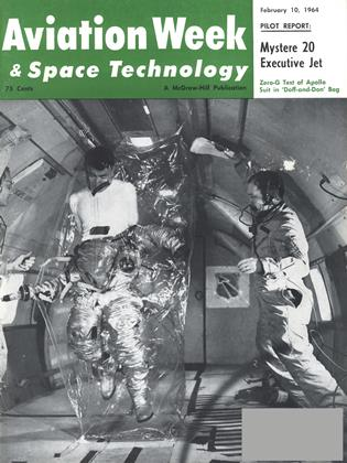 Cover for the February 10 1964 issue