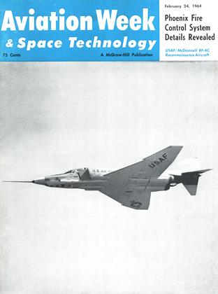 Cover for the February 24 1964 issue