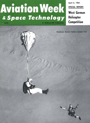 Cover for the April 6 1964 issue