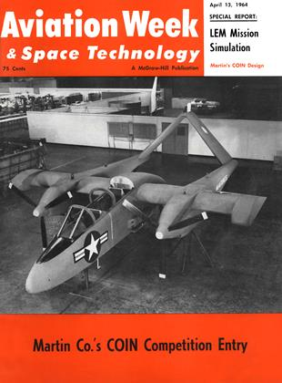 Cover for the April 13 1964 issue
