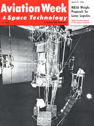 Cover for the April 27 1964 issue