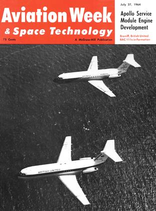 Cover for the July 27 1964 issue