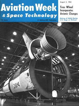 Cover for the August 3 1964 issue