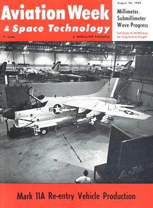 Cover for the August 24 1964 issue