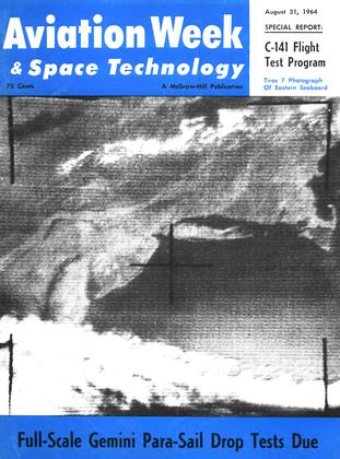 Cover for the August 31 1964 issue