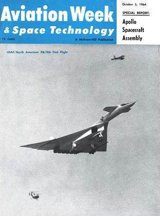 Cover for the October 5 1964 issue