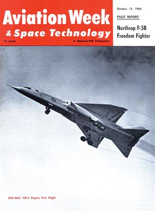 Cover for the October 12 1964 issue