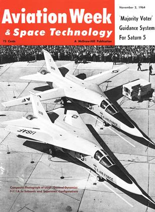 Cover for the November 2 1964 issue