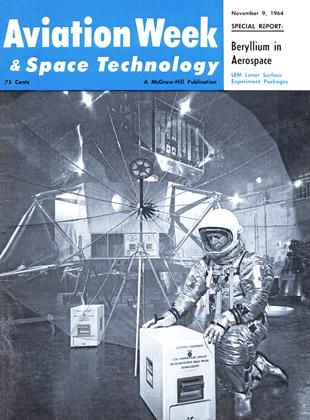 Cover for the November 9 1964 issue