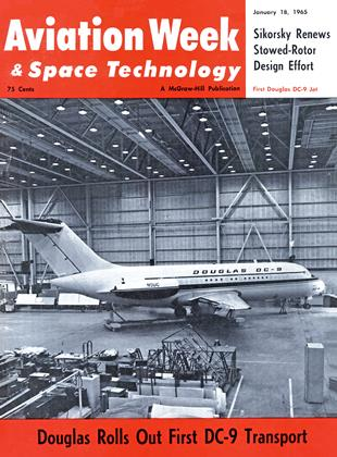 Cover for the January 18 1965 issue