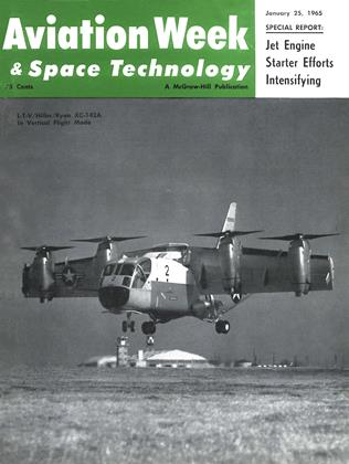 Cover for the January 25 1965 issue