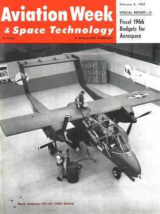 Cover for the February 8 1965 issue