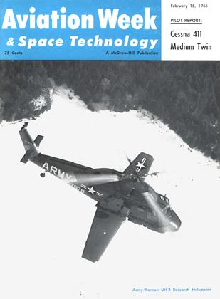 Cover for the February 15 1965 issue