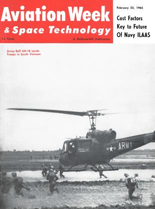 Cover for the February 22 1965 issue