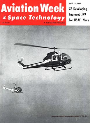 Cover for the April 19 1965 issue